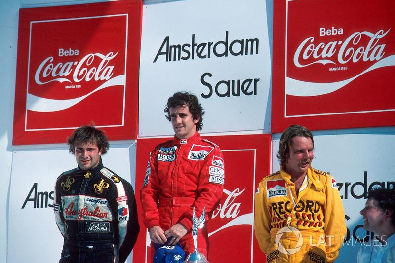 Por falar na França, Alain Prost é o maior vencedor do GP do Brasil, com seis vitórias: cinco em Jacarepaguá e um em Interlagos, na volta do GP a São Paulo.
