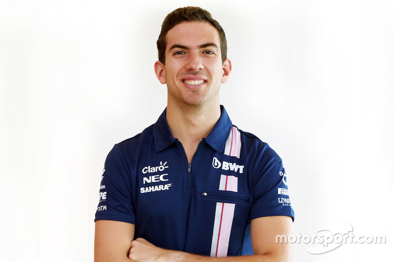 Nicholas Latifi, piloto de pruebas de Force India