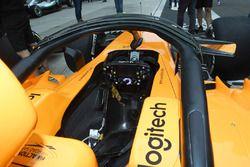 McLaren MCL33 cabina