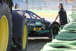 Lucas Auer, Mercedes-AMG Team HWA, Mercedes-AMG C63 DTM in the gravel