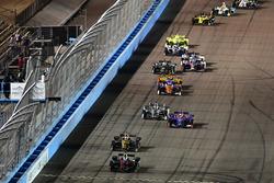 Robert Wickens, Schmidt Peterson Motorsports Honda, James Hinchcliffe, Schmidt Peterson Motorsports