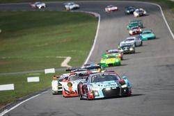 #8 Audi Sport Team WRT Audi R8 LMS: Rene Rast, Robin Frijns leads