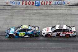 Kasey Kahne, Leavine Family Racing, Chevrolet Camaro WRL General Contractors, Brad Keselowski, Team Penske, Ford Fusion Discount Tire
