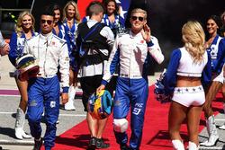 Marcus Ericsson, Sauber and Pascal Wehrlein, Sauber