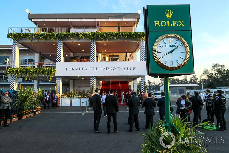 Paddock Club y reloj Rolex
