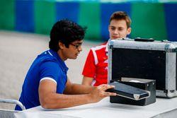 Arjun Maini, Trident, Louis Deletraz, Charouz Racing System