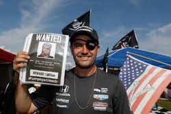 Pirati del Mid-Ohio con il vincitore Blackbeard Jack Harvey, Meyer Shank Racing con SPM Honda