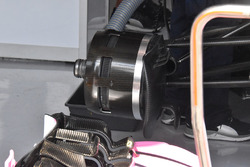 Force India VJM11 detalle del freno delantero