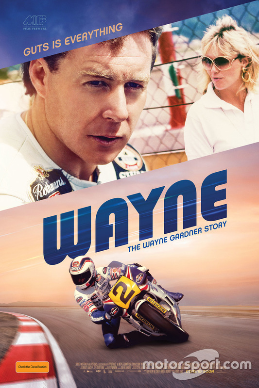 Wayne Gardner movie poster