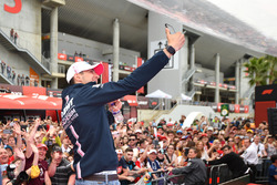 Esteban Ocon, Force India F1 selfie