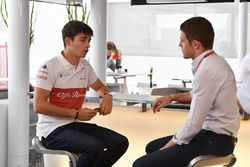 Charles Pic, and Paul di Resta, Sky TV