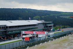 Spa-Francorchamps circuit sfeerbeeld
