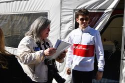 Charles Leclerc, Alfa Romeo Sauber F1 Team and fans