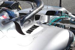Mercedes AMG F1 W09 detail