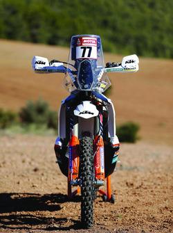 Мотоцикл Лусиано Бенавидеса, KTM