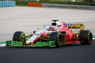 Robert Kubica, Williams FW41, con la vernice flow-vis