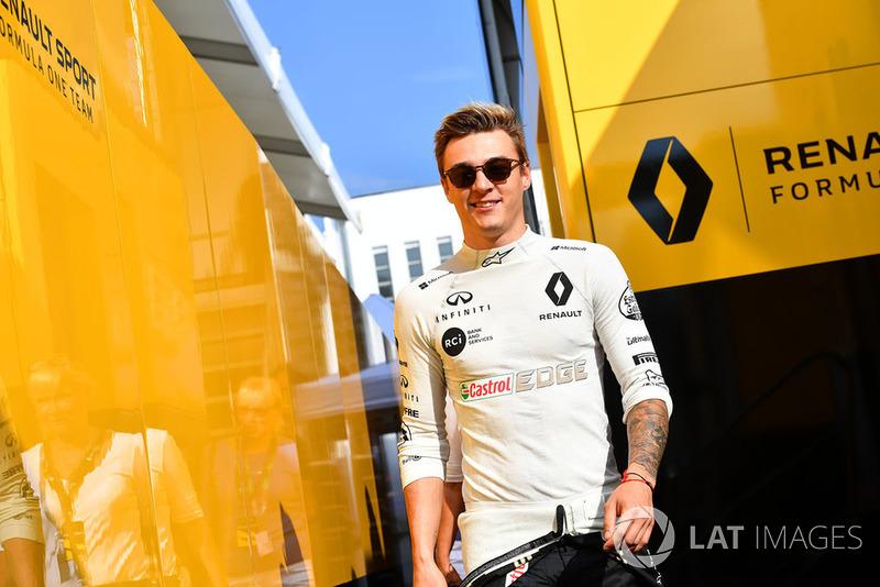 Artem Markelov, Renault Sport F1 Team