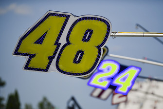 Startnummern 48 und 24 von Jimmie Johnson, Hendrick Motorsports, und William Byron, Hendrick Motorsports