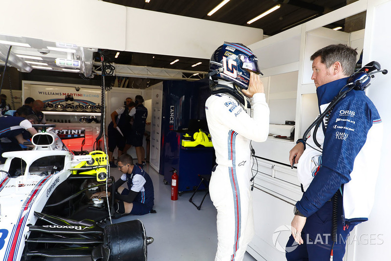Lance Stroll, Williams Racing, Rob Smedley, Head of Vehicle Performance, Williams