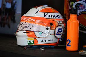 Шлем Стоффеля Вандорна, McLaren