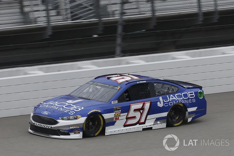 33. B.J. McLeod, Rick Ware Racing, Ford Fusion Jacob Companies