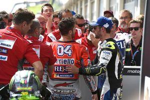 3. Andrea Dovizioso, Ducati Team, 4. Cal Crutchlow, Team LCR Honda