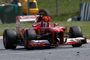 Yarış galibi Fernando Alonso, Ferrari F138