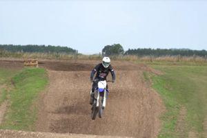 Michael van der Mark op een Yamaha crossmotor