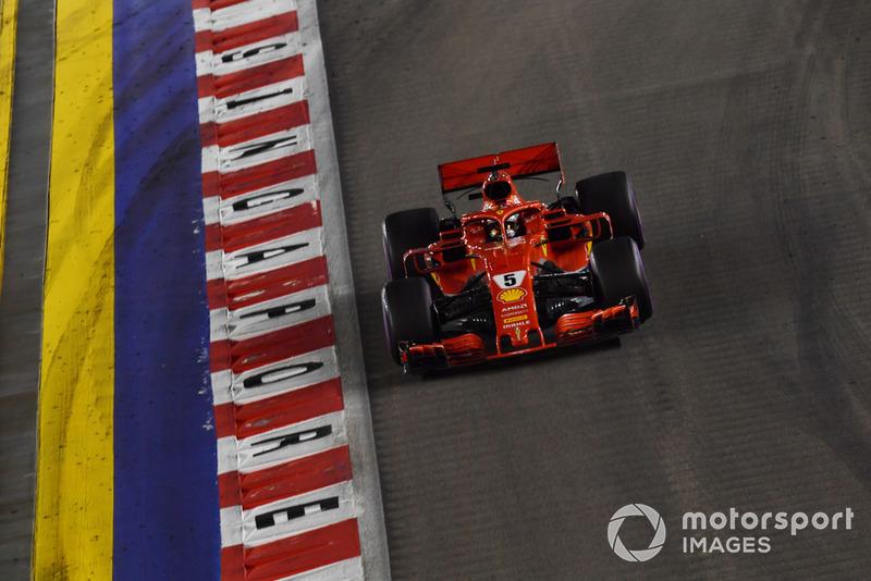 Vettel, preocupado por sus neumáticos ultrablandos
