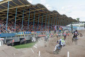 Sfeerbeeld WK motorcross op TT Circuit Assen