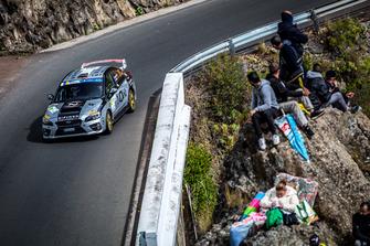 Gilbert Bannout, Maxime Vilmot, Subaru Impreza, Toksport WRT