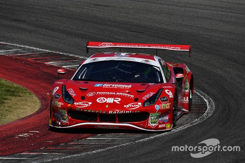 Ferrari 488-GT3 #27 Scuderia Baldini 27: Rugolo-Gai