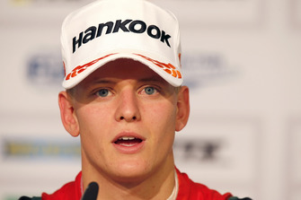 Press conference, Mick Schumacher, PREMA Theodore Racing Dallara F317 - Mercedes-Benz