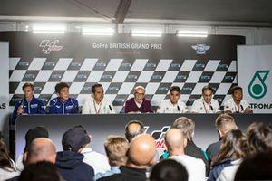 Conférence de presse Petronas Yamaha SIC Racing Team