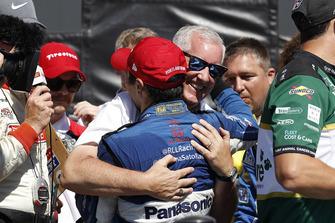 Takuma Sato, Rahal Letterman Lanigan Racing Honda, podio