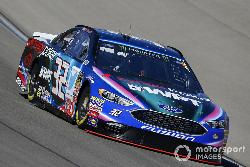 26. Matt DiBenedetto, Go FAS Racing, Ford Fusion Zynga Poker