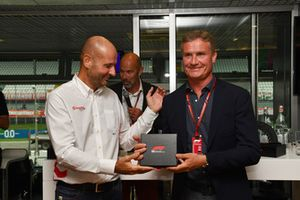 David Coulthard, Channel 4 F1 au F1 Hall of Fame