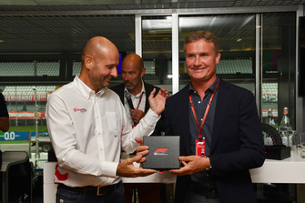 David Coulthard, Channel 4 F1 at F1 Hall of Fame