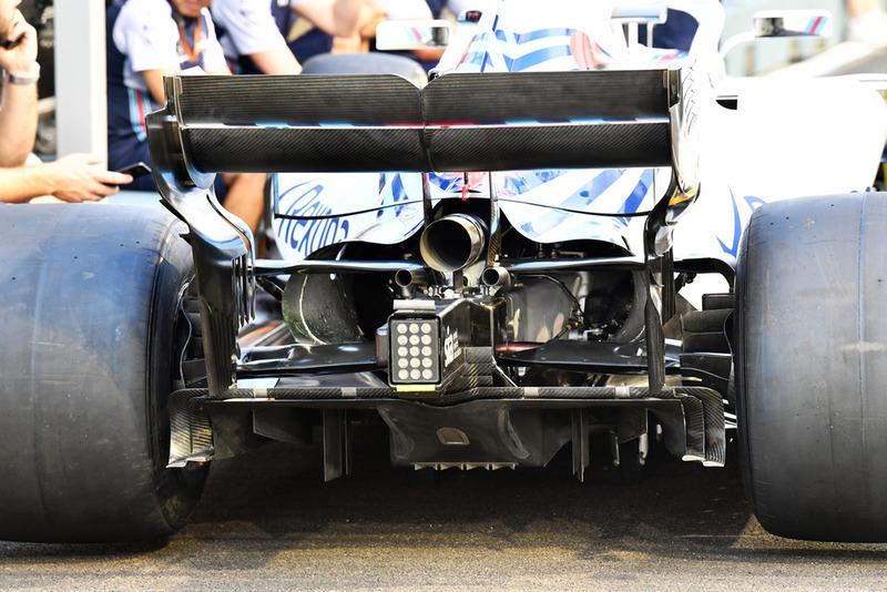 Williams FW41 rear