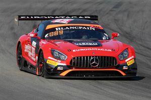 #89 Akka ASP Team Mercedes-AMG GT3: Eric Debard, Fabien Barthez