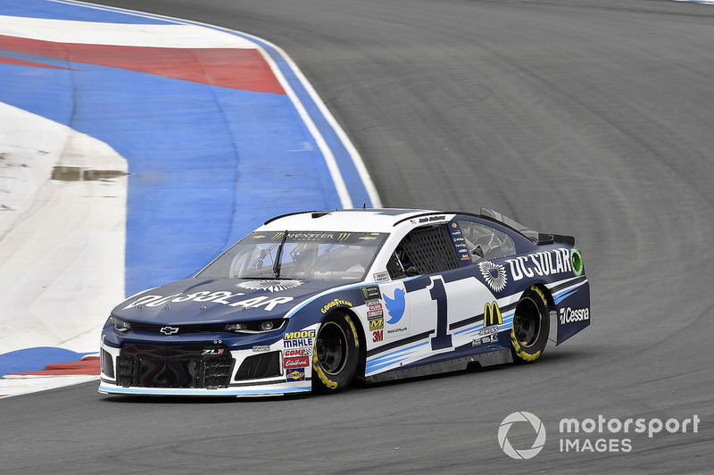 8. Jamie McMurray, Chip Ganassi Racing, Chevrolet DC Solar