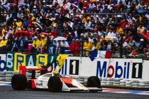 Ayrton Senna, McLaren MP4-4 Hond