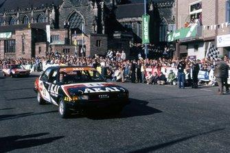 Stirling Moss, Audi, gara del BTCC a Brands Hatch del 1980