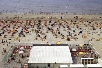 The Zandvoort beach