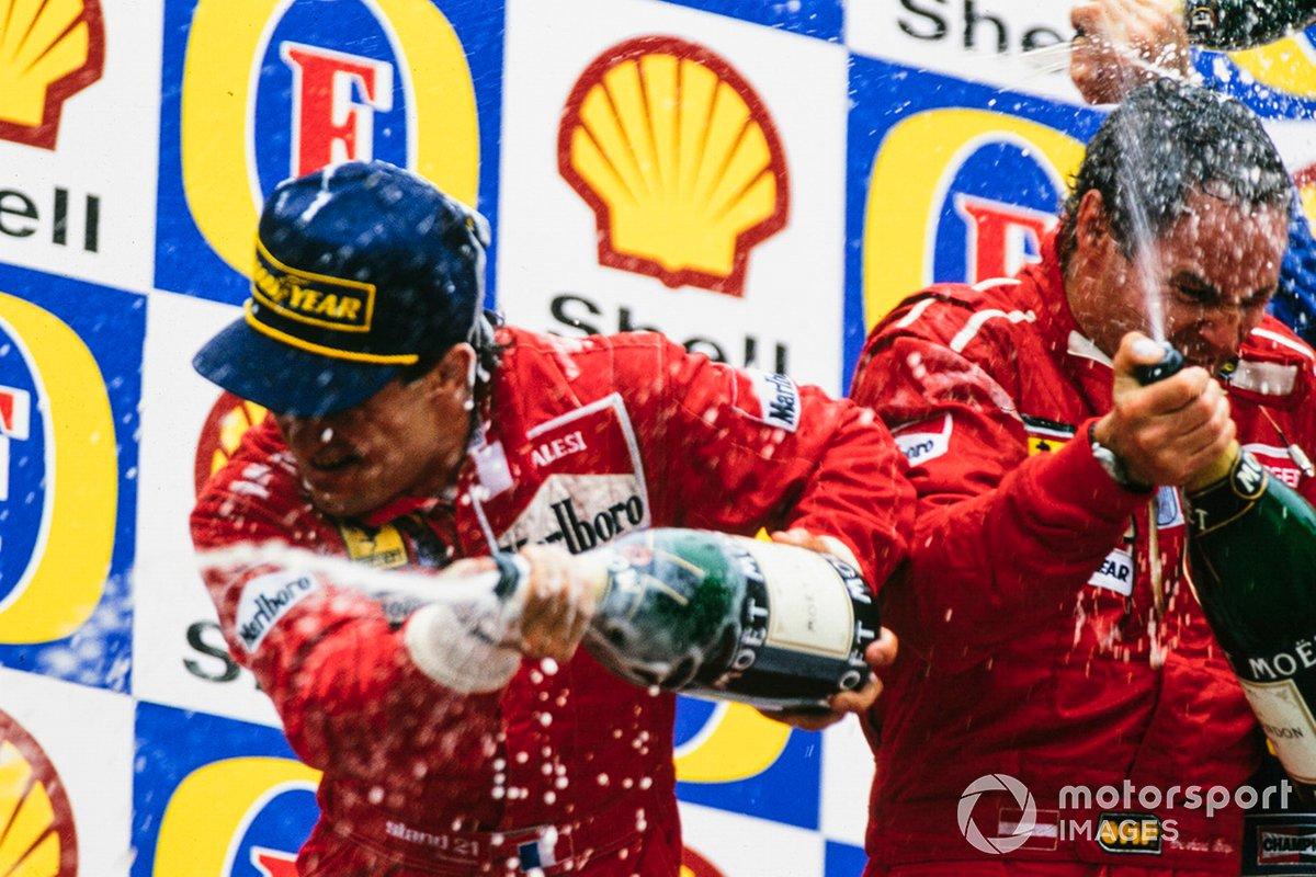 Jean Alesi, Ferrari, Gerhard Berger, Ferrari