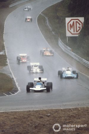 John Surtees, Surtees TS9 Ford, Chris Amon, Matra MS120B, Peter Gethin, British Racing Motors P160, Mario Andretti, Ferrari 312B2, Denny Hulme, McLaren M19A Ford, GP del Canada del 1971