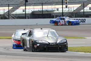 Riley Herbst, Joe Gibbs Racing, Toyota Supra Monster Energy, Ryan Sieg, RSS Racing, Chevrolet Camaro CMRRoofing.com