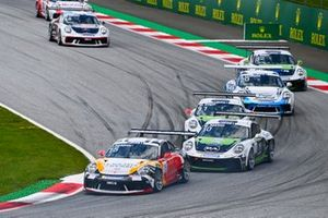 Jukka Honkavuori, MRS GT-Racing, Marius Nakken, Dinamic Motorsport, Moritz Sager, Dinamic Motorsport and Roar Lindland, Pierre martinet by Almeras