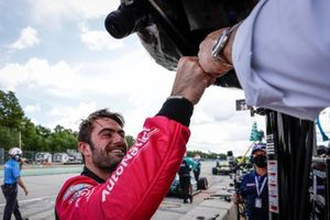 Джека Харви, Meyer Shank Racing Honda поздравляет Майкл Шенк