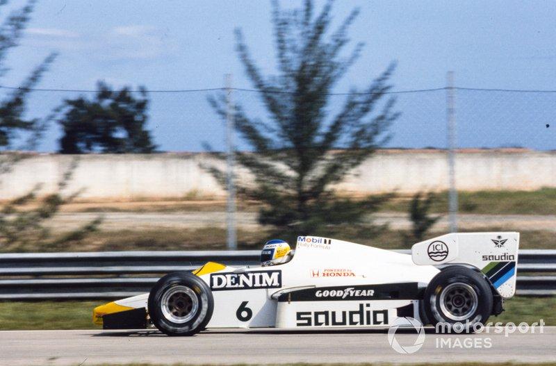 Keke Rosberg, Williams FW09 Honda